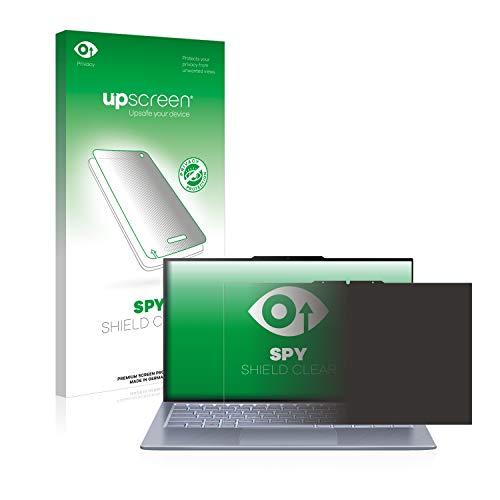 upscreen Anti-Spy Blickschutzfolie kompatibel mit Asus ZenBook S13 UX392FN Privacy Screen Sichtschutz Bildschirmschutz-Folie