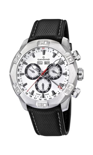 Candino-Mens-Quartz-Watch-with-White-Dial-Chronograph-Display-and-Black-Leather-Strap-C44761