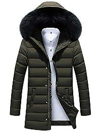 Zegeey Herren Herbst Winterjacke Mantel Outwear Dünne Lange Trench Zipper  Caps Revers Outwear 39bdf15dd6