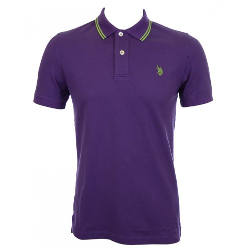 us-polo-association-polo-uomo-viola-medium