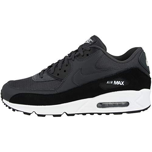 Nike Herren Air Max 90 Essential Leichtathletikschuhe, Schwarz (Anthracite/White/Black 000), 49.5 EU