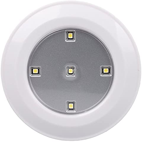 HJHGE Regalos de Navidad Creative pared economizador de batería de luces LED , pequeña luz cálida luz nocturna