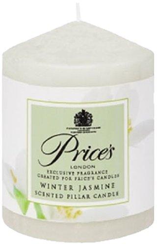 Prices Patent Candles Bougie senteur jasmin d'hiver