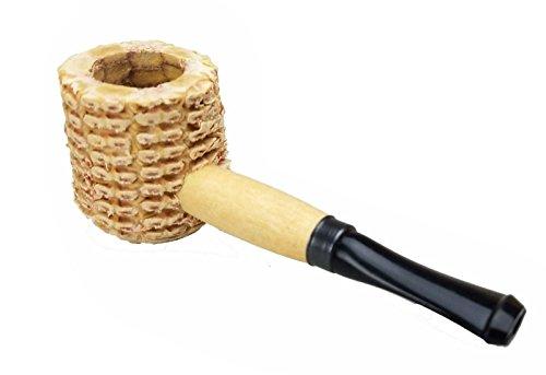 Pipa di popcorn Mini Miniature naturale di Missouri Meerschaum Corn Cob Pipe 6230a