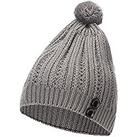 BESTOYARD Sombrero de Punto Beanie de Invierno Sombrero Pom Bobble Sombrero de Pom Bobble Gorro Beanie Sombrero de esquí de Invierno cálido (Gris Claro)