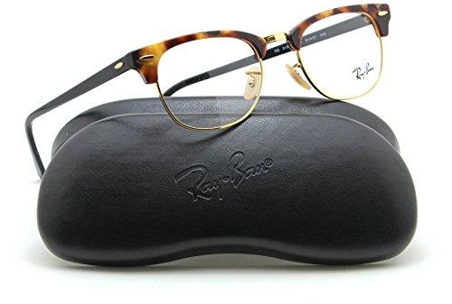 Ray-Ban RX5154 Clubmaster Optics Prescription Glasses 5494 - 51