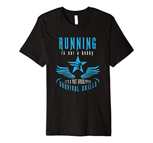 Funny Post Apokalyptischen Running Survival Skill witzig T-shirt