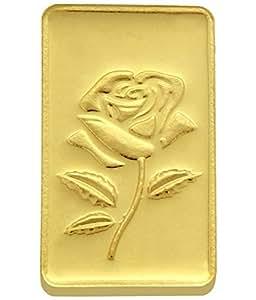 TBZ - The Original 20 gm, 24k(999) Yellow Gold Rose Precious Coin