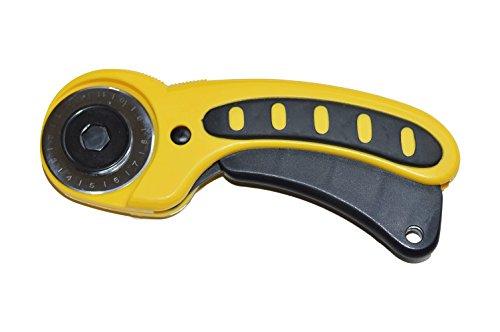DEKILE Rollschneider Stoffschneider Rollmesser 45 mm