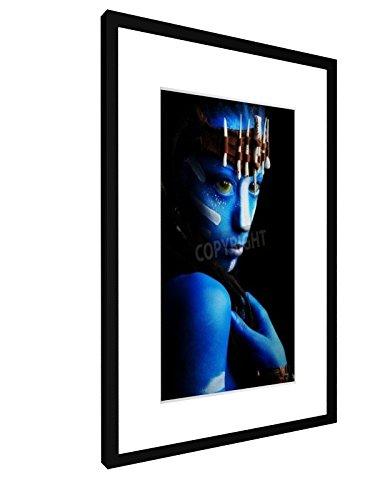 Fantasie - 40x60 cm - Bild mit Rahmen / Gerahmtes Poster - Kunstdruck - Wandbild - Kunst, Gemälde, Foto, Bild - (Home Avatar Kostüme)