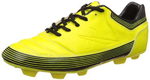 Vector X Chaser ll 001-M Football Shoes, Men's UK 3 (Yellow/Black)
