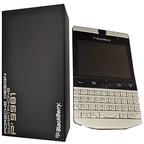Porsche Design P'9981 Smartphone von BlackBerry (7,1 cm (2,8 Zoll) Touchscreen, 5 Megapixel Kamera, QWERTZ-Tastatur) silber Cellular Innovationen Bluetooth-headset
