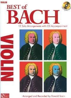 BEST OF BACH - arrangiert für Violine - mit CD [Noten / Sheetmusic] Komponist: BACH JOHANN SEBASTIAN