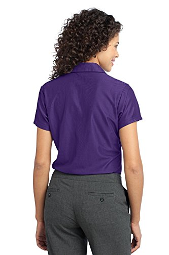 Port Authority - Polo - Femme Violet - Majestic Purpl