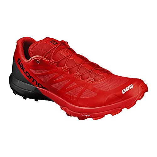 Salomon S-Lab Sense 6 SG Racing Red Black White 46 (Schuhe Herren Racing)