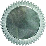 PME Silver Baking Cases for Cupcakes, Standard Size, Pack of 30