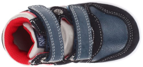 Naturino - Naturino Chaussures Petit Garçon Bleu Rouge Gris Cuir Sport 412 Bleu