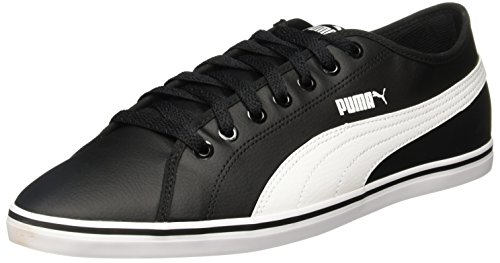Puma Elsu V2 SL, Scarpe da Ginnastica Basse Unisex – Adulto Nero (Black-white)