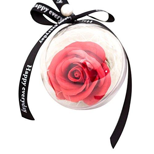 Funpa Soap Flower, Rose Seife duftende Bad Seife Geschenk Seife für Hochzeit Valentinstag - Duftende Rose Soap