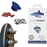 SMART POWER 12 Crampons Haute Performance de Football et Rugby Aluminium 8/11 mm pour...