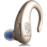 BASN-Cuffie Wireless Bluetooth con microfono Hands Free auricolari Stereo, Auricolari con cancellazione del rumore, per auto, bici