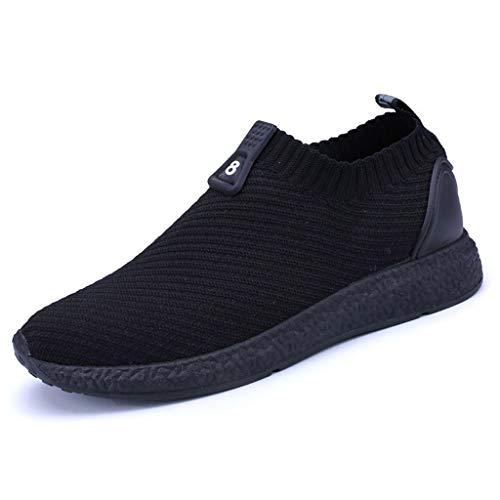 DIKHBJWQ Aqua-Socken Strandschuhe Sommer Sandalen Leichte Slipper Schnell Trocknende Wasserschuhe Bequeme Aquaschuhe Beiläufige Surfschuhe Flache Sneakers für Herren und Herren