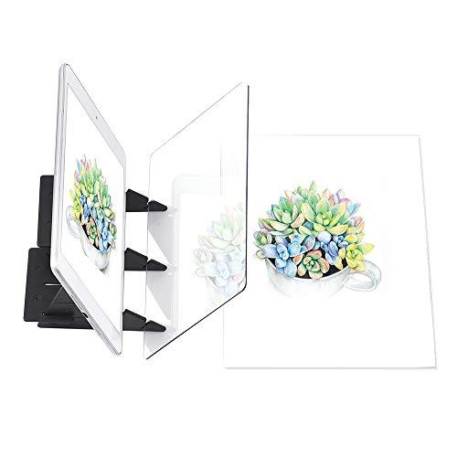 Tablero de rastreo óptico portátil de copia de manualidades