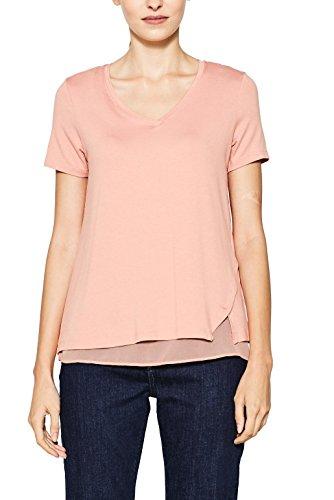 ESPRIT Collection Damen T-Shirt Rosa (Blush 665)