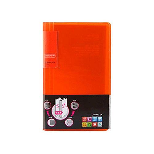 Liu Yu·Bureau, fournitures de bureau orange carte de visite carte de visite titulaire 168 poste de carte