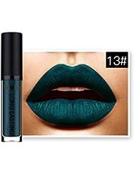 Lipstick,JACKY Waterproof Matte Liquid Lipstick Long Lasting Lip Gloss (M)