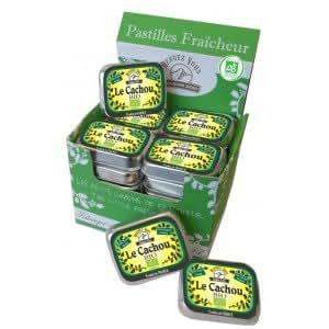 Pastilles Cachou BIO Sans Sucre (x 24)