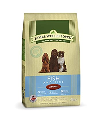 James Wellbeloved Fish and Rice Adult Dry Dog Food