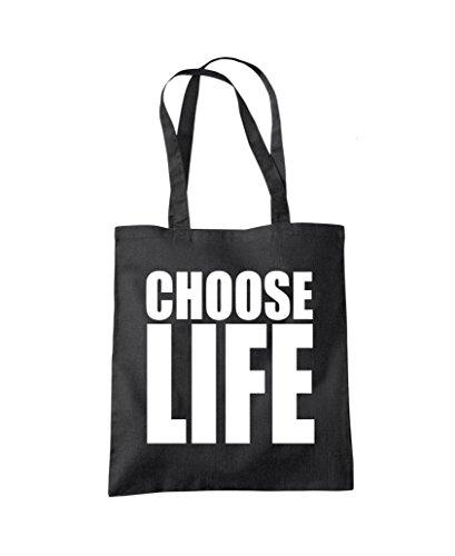 Wham! Choose Life - Tote Shopper Fashion Bag - Many Colours