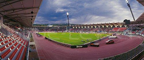 Erfurt Stadion 2016 Panorama – Poster 120 x 50 cm – hochwertiger FineArtPrint
