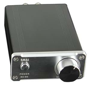 SMSL SA-50 2x50W D-AMP TDA7492 Hi-Fi Stereo Amplifier ...