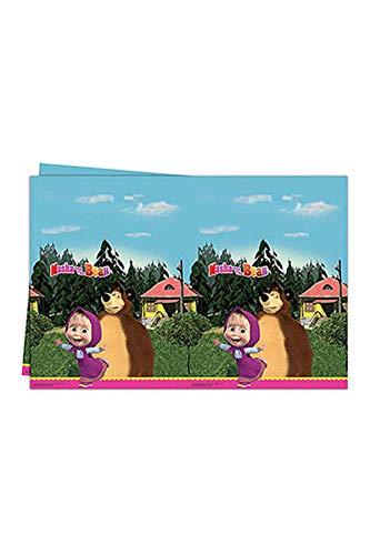 und der Bär Kunststoff-Tischdecke , Mehrfarbig, 120 x 180 cm ()