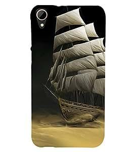 Sailboat wallpaper 3D Hard Polycarbonate Designer Back Case Cover for HTC Desire 828 :: HTC Desire 828Q :: HTC Desire 828S :: HTC Desire 828G+ :: HTC Desire 828 G Plus :: HTC Desire 828 Dual Sim