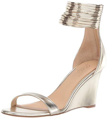 badgley mischka women's starry wedge sandal