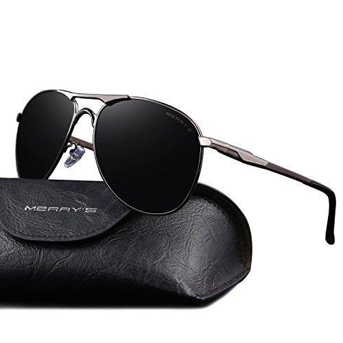 merrys-mens-aviator-polarized-sunglasses-coating-lens-driving-shades-s8712-grayblack