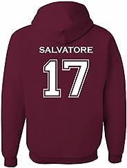 The Creating Studio Adult Vampire Diaries Salvatore 17 2-Sided Hoodie