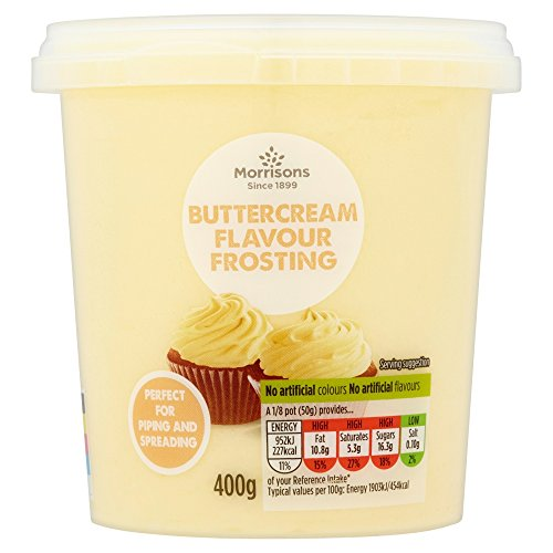 Morrisons Buttercream Flavour Frosting, 400g