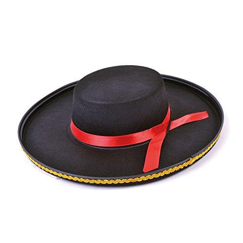 Emmas Kleiderschrank Mexican Hat für Tag der Toten Kostüm - Spanisch Senor Sombrero (Mexican) (Toten-kleiderschrank Tag Der)