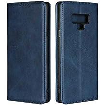 Rosado DENDICO Funda Galaxy Note 8 Piel Cuero Flip Case con Soporte Plegable Ultra-Delgado Protecci/ón De Cuerpo Completo Carcasa para Samsung Galaxy Note 8