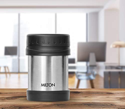 Milton Thermosteel Soup Flask, 350ml, Silver