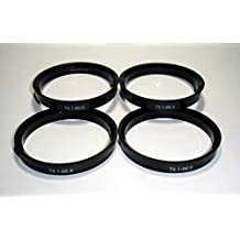 Centradores 4 LLANTA 74.1-66.6 Aros para Llantas DE Aluminio ATS AVUS BINNO cms DBV