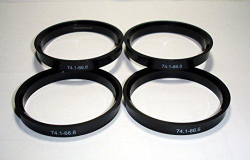 4 Randfelgen Bügel 74.1-66.6 für Aluminium-Felgen ATS Avus BINNO cms DBV Infiny Japan Racing Mak PLW Proline RH Schmidt WSP Italy