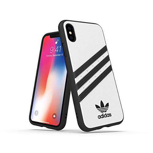 adidas Originals Funda iPhone X/XS Molded - Blanco/Negro