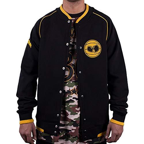 Wu Wear - Wu Tang Clan- Wu Wear Basketball Sweat Jacket - Wu-Tang Clan Größe L, Farbe Black