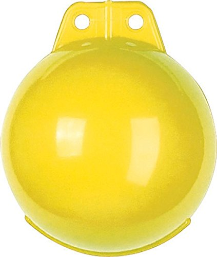 Ankerboje aufblasbar - Ø 160mm - verschiedene Farben, Farbe:gelb