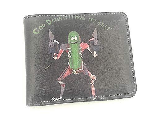 Rick y Morty la cartera, la salmuera Rick, Rick salmuera rata, maldita me amo